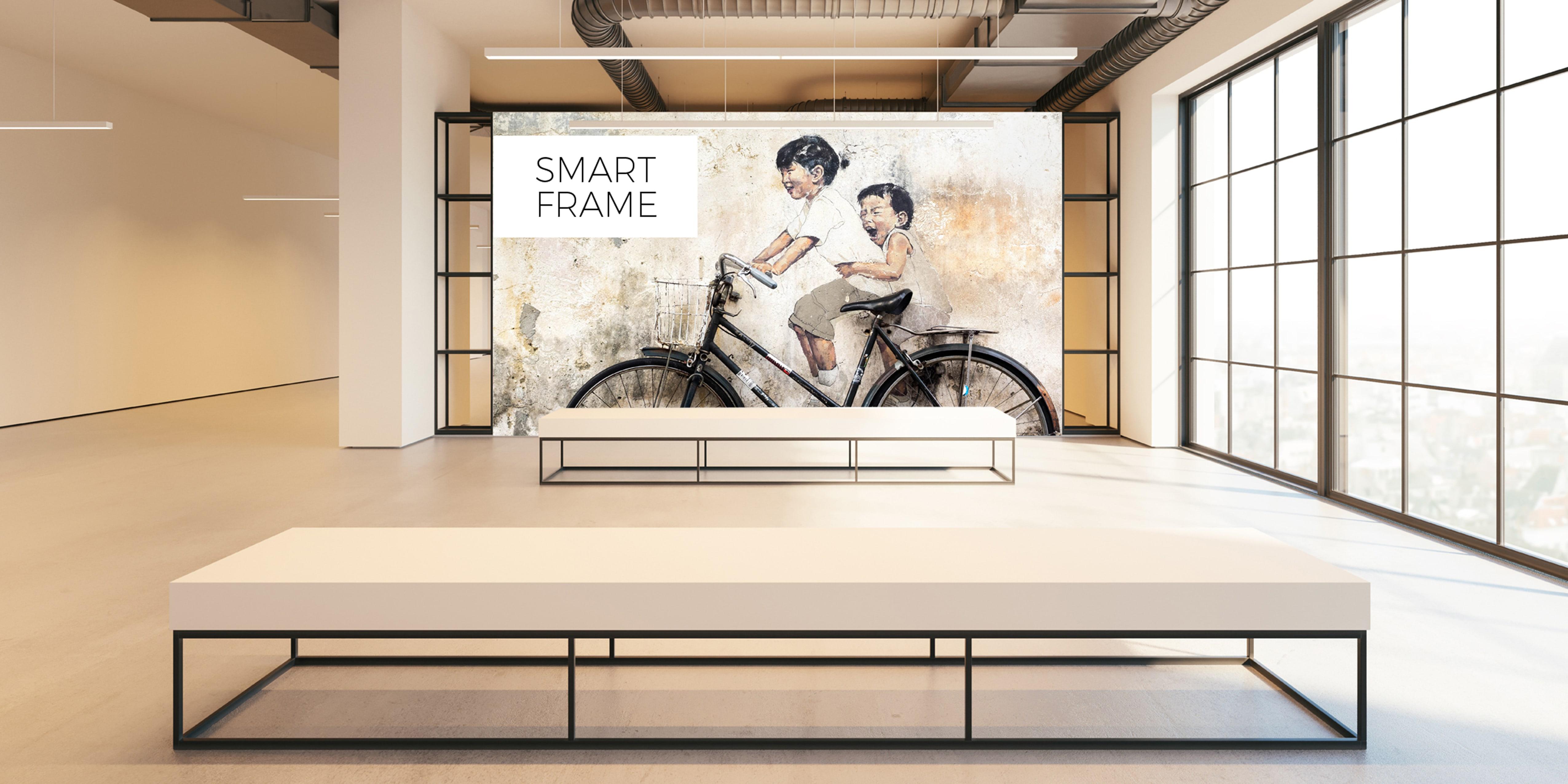 Smart Frame – modernes Gewebespannsystem