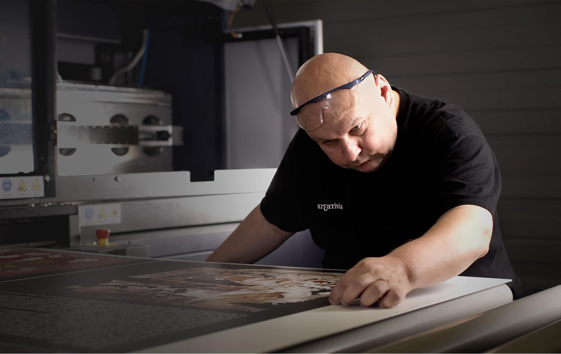 Imprimerie grand-format